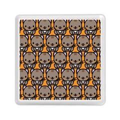 Sitcat Orange Brown Memory Card Reader (Square)