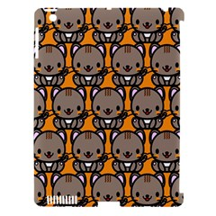 Sitcat Orange Brown Apple iPad 3/4 Hardshell Case (Compatible with Smart Cover)