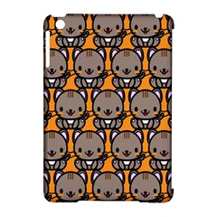 Sitcat Orange Brown Apple iPad Mini Hardshell Case (Compatible with Smart Cover)
