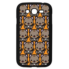 Sitcat Orange Brown Samsung Galaxy Grand DUOS I9082 Case (Black)