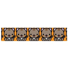 Sitcat Orange Brown Flano Scarf (Small)