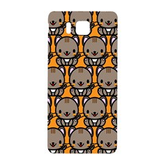 Sitcat Orange Brown Samsung Galaxy Alpha Hardshell Back Case
