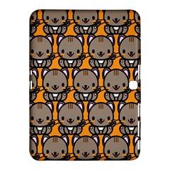 Sitcat Orange Brown Samsung Galaxy Tab 4 (10.1 ) Hardshell Case