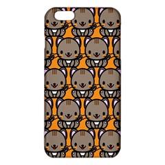 Sitcat Orange Brown iPhone 6 Plus/6S Plus TPU Case