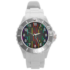 Related Pictures Funny Round Plastic Sport Watch (L)
