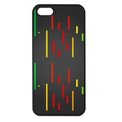 Related Pictures Funny Apple iPhone 5 Seamless Case (Black)