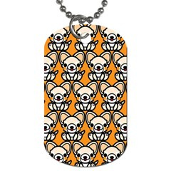 Sitchihuahua Cute Face Dog Chihuahua Dog Tag (One Side)