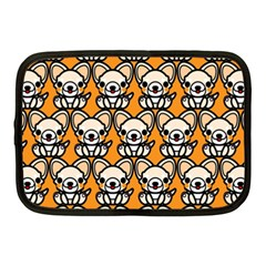 Sitchihuahua Cute Face Dog Chihuahua Netbook Case (Medium)