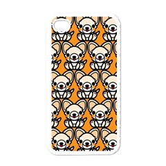 Sitchihuahua Cute Face Dog Chihuahua Apple iPhone 4 Case (White)