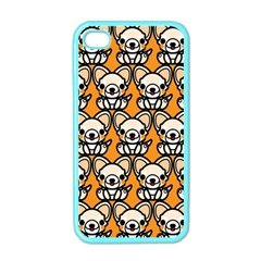Sitchihuahua Cute Face Dog Chihuahua Apple iPhone 4 Case (Color)