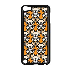 Sitchihuahua Cute Face Dog Chihuahua Apple iPod Touch 5 Case (Black)