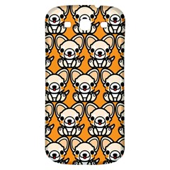 Sitchihuahua Cute Face Dog Chihuahua Samsung Galaxy S3 S III Classic Hardshell Back Case