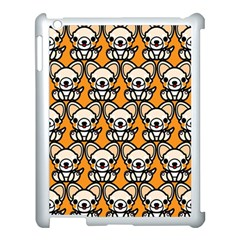 Sitchihuahua Cute Face Dog Chihuahua Apple iPad 3/4 Case (White)