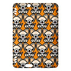 Sitchihuahua Cute Face Dog Chihuahua Kindle Fire HDX Hardshell Case