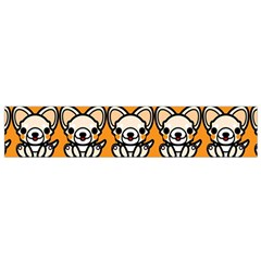 Sitchihuahua Cute Face Dog Chihuahua Flano Scarf (Small)