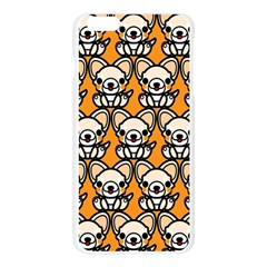 Sitchihuahua Cute Face Dog Chihuahua Apple Seamless iPhone 6 Plus/6S Plus Case (Transparent)