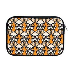 Sitchihuahua Cute Face Dog Chihuahua Apple MacBook Pro 17  Zipper Case