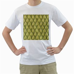 Scissor Men s T-Shirt (White) (Two Sided)