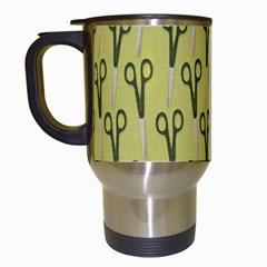 Scissor Travel Mugs (White)