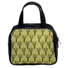 Scissor Classic Handbags (2 Sides)