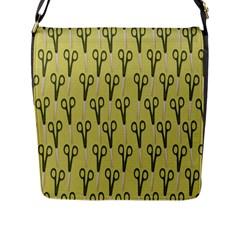 Scissor Flap Messenger Bag (L)