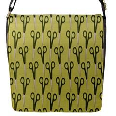 Scissor Flap Messenger Bag (S)