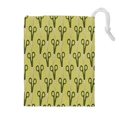 Scissor Drawstring Pouches (Extra Large)