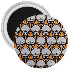 Sitpersian Cat Orange 3  Magnets