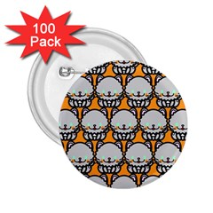 Sitpersian Cat Orange 2.25  Buttons (100 pack)
