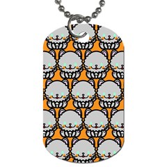 Sitpersian Cat Orange Dog Tag (Two Sides)