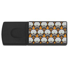 Sitpersian Cat Orange USB Flash Drive Rectangular (1 GB)