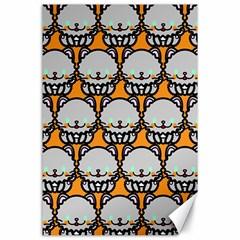 Sitpersian Cat Orange Canvas 24  x 36