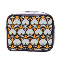 Sitpersian Cat Orange Mini Toiletries Bags