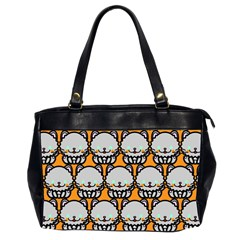 Sitpersian Cat Orange Office Handbags (2 Sides)