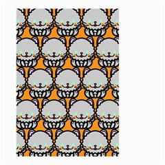 Sitpersian Cat Orange Small Garden Flag (Two Sides)