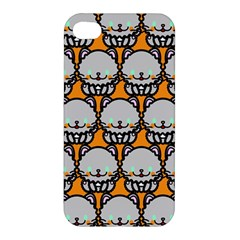 Sitpersian Cat Orange Apple iPhone 4/4S Premium Hardshell Case