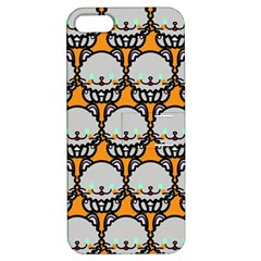 Sitpersian Cat Orange Apple iPhone 5 Hardshell Case with Stand