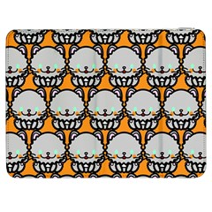 Sitpersian Cat Orange Samsung Galaxy Tab 7  P1000 Flip Case