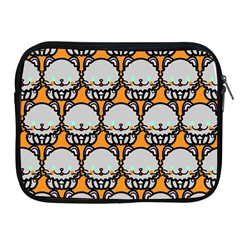 Sitpersian Cat Orange Apple iPad 2/3/4 Zipper Cases
