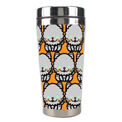 Sitpersian Cat Orange Stainless Steel Travel Tumblers