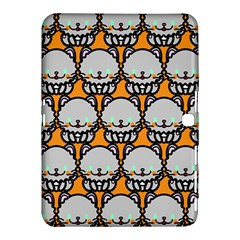 Sitpersian Cat Orange Samsung Galaxy Tab 4 (10.1 ) Hardshell Case