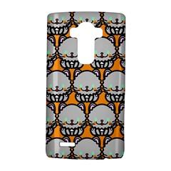 Sitpersian Cat Orange LG G4 Hardshell Case