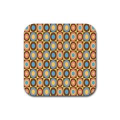 Round Color Rubber Coaster (Square)