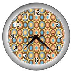 Round Color Wall Clocks (Silver)
