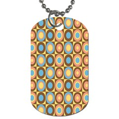 Round Color Dog Tag (One Side)