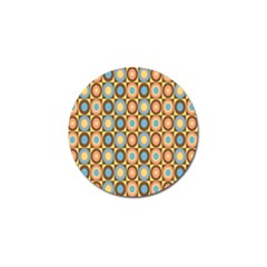 Round Color Golf Ball Marker (4 pack)