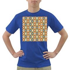 Round Color Dark T-Shirt