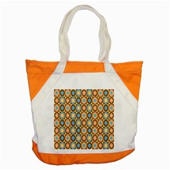 Round Color Accent Tote Bag