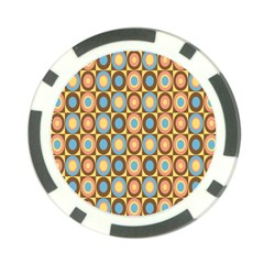 Round Color Poker Chip Card Guards (10 pack)