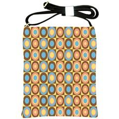 Round Color Shoulder Sling Bags